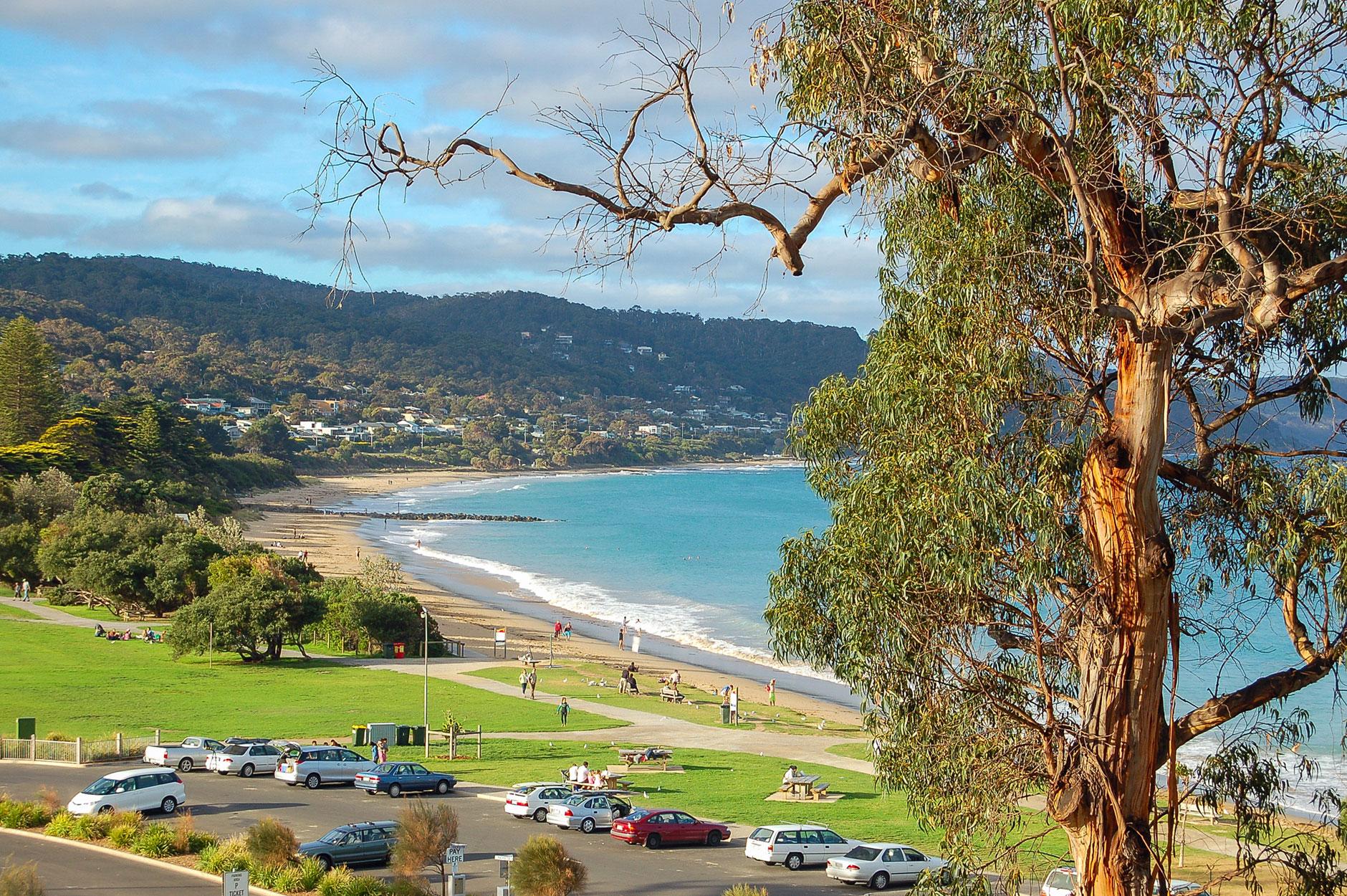 Lorne front beach